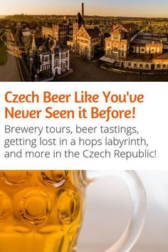 Beer Fans Looking for Travel Inspiration will love this! The Czech Republic produces some of the best beer in the world. Here are some of the best beer travel experiences in the Czech Republic! #beer #travel #pilsner #czechrepublic #europe #pilsen #moravia 100years