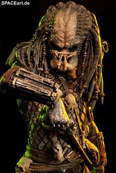 Predator 2: Elder Predator - Deluxe Statue, Fertig-Modell, http://spaceart.de/produkte/pr021.php
