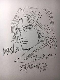 #Monster #Dessin urasawa naoki #Mangaka #NaokiUrasawa