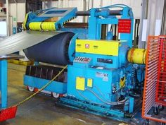 HIMES MACHINERY - DAHLSTROM CUT TO LENGTH LINE