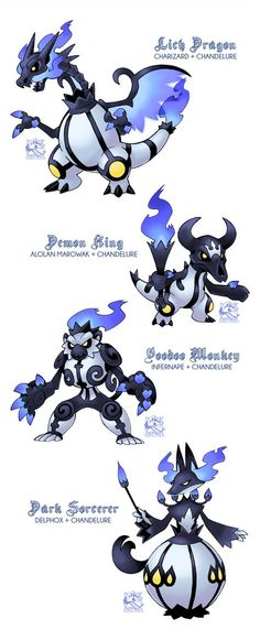 Pokemon Fusions 2017 by cat-meff on DeviantArt Oc Pokemon, Pokemon Fusion Art, Pokemon Pins, Pokemon Comics, Pokemon Fan Art, Cute Pokemon, Pokemon Cards, Pokemon Fake, Digimon