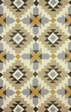 Rugs USA Radiante BC68 Mustard Rug.  Rugs USA, geo, modern, home decor, interior design, style, create, inspire, love.