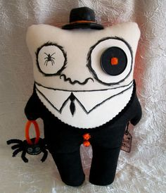 Edgar Goth Mine Art Doll Creepy Cute Stuffie by RavenFaesCreations