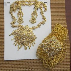 Multicolor Stone Studded Pendant Set Thai Dresses Jewels