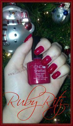 CND Shellac: Ruby Ritz