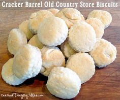 Cracker Barrel Old Country Store Biscuits.