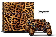 Designer Skin PS4 Playstation 4 Console + Controller Decals Animal print LEOPARD