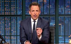 Seth Meyers: The world has gone insane since Donald Trump appointed Steve Bannon Mr Trump, Donald Trump, Steve King, Seth Meyers, Orson Welles, Going Insane, Television Program, Conservative News