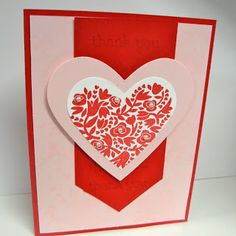 Stampin' Up!- 'Flowerfull Heart' single stamp