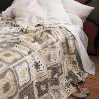 Un dessus de lit comme un patchwork de crochet - Marie Claire Idées