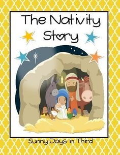 HAPPY BIRTHDAY JESUS!! This is a booklet I created for the little ones with the beautiful clip art from KARI BOLT and ILLUMISMART. You can find them both right here on TPT! :) Let's celebrate the reason for the season as we have our children or students learn and write about the Nativity Story.