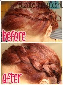 love, elizabethany: how to: get a thick bohemian braid