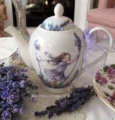 Rose Chintz Cottage: A Little Lavender and Whimsy for Tea Time