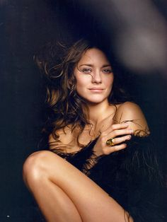Marion Cotillard.   You know, they say, stars were aligned in a manner. they were, to make her come alive.