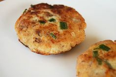Crisp Mashed Potato Fish Cakes