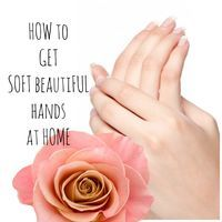 Suffering from dull, tired and rough hands? Hands that are not properly cared for can become rough and unsightly. Let's find out how to get soft hands at home with easy accessible ingredients.