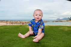 Jackson's 1st trip to Hawaii at 6 months