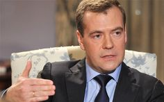 Dmitry Medvedev, the Russian prime minister, interview