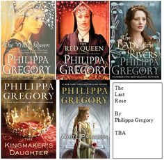 The Cousins' War series by Philippa Gregory. My next series venture :) The White Princess, White Queen, Red Queen, Book Tv, Book Club Books, Books To Read, Philippa Gregory, What Women Want, Ways To Relax