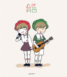 akmu | Akdong Musician | omg how cute ♡.♡