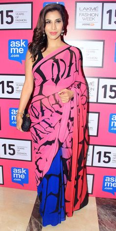 Sophie Choudry at the Lakme Fashion Week 2015. #Bollywood #Fashion #Style #Beauty #LFW15