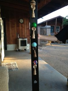 Homemade Kendama holder. Want one? Ask me how!