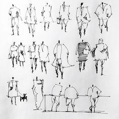sketches of people, drawing people, architectural people, abstract sketches Architecture People, Architecture Graphics, Architecture Drawings, Architecture Design, Architecture Visualization, Landscape Sketch, Landscape Drawings, Abstract Sketches, Drawing Sketches