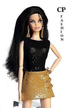 CP ITALIAN STYLE handmade DRESS for BARBIE BASICS,MODEL MUSE,PIVOTAL...