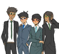 homestuck Jade Harley John Egbert jake english jane crocker herpderp mafiastuck yeeeeeeeeeeee