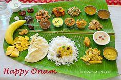 Onam Sadya recipes http://www.tastyappetite.net/2013/09/happy-onam-onam-sadya-recipes-happy.html