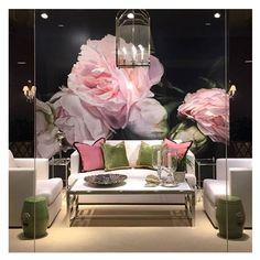 Webster & Company Showroom                 Boston, MA  Thomas Darnell – Peonies Pink