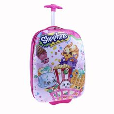 Moose Shopkins Hard Shell Children's Luggage ** Be sure to check out this awesome product. (This is an Amazon Affiliate link)