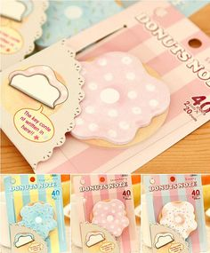 Cute animal sticky notes, memo pads for DIY scrapbook decoration, bookmark, paper working, wedding party deco-Color Random on Etsy, $2.03 CAD