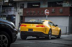 "2014 Chevrolet ""Transformers 4"" BumbleBee Camaro picture"