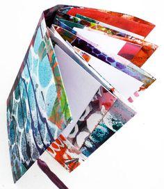 Journal with pockets by Julie Fei-Fan Balzer
