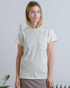 Irwin Garden embroidered t-shirt.
