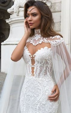 "Crystal Design 2018 Wedding Dresses — ""Royal Garden"" & Haute Couture Bridal Collections crystal design 2018 sleeveless strapless deep plunging sweetheart neckline full embellishment elegant mermaid wedding dress sheer button back chapel train (gia) zv Sheer Wedding Dress, Lace Mermaid Wedding Dress, Gorgeous Wedding Dress, Best Wedding Dresses, Mermaid Dresses, Bridal Dresses, Wedding Gowns, Wedding Ceremony, Dress Lace"