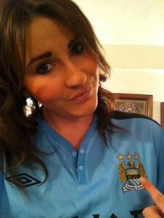 manchester city women's fc | Stunning Gallery! 50 Really Hot Women In Football Shirts: Sexy Babes ...