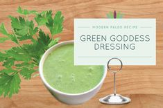 What's the difference between Green Goddess dressing and Green God dressing? Green Goddess dressing takes a lot longer to get ready. Anyway, here's my take on San Francisco's very own, Green Goddess dressing.