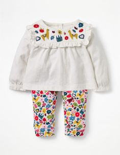 4066f530eda8 Printed Jersey Play Set Boden Girls Rompers, Kid Styles, Toddler Fashion,  Baby Wearing