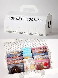 7 Best Creative Cookies Packaging Design Ideas Everyone love cookies from kids to elderly people and even our pets love cookies too. Cookies give such a delicious crunchy taste with various flavors and cute shapes. However, flavors and sha Dessert Packaging, Bakery Packaging, Cookie Packaging, Food Packaging Design, Cute Packaging, Bottle Packaging, Packaging Design Inspiration, Brand Packaging, Design Ideas