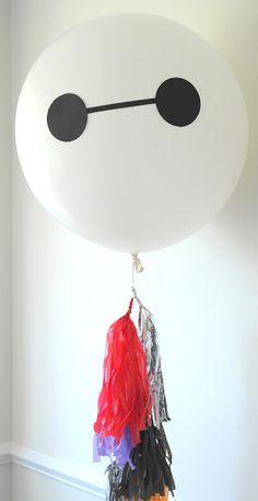 Big Hero 6 Birthday Party BayMax Balloons: Ella and Annie Magazine 6th Birthday Parties, Birthday Bash, Big Hero 6 Party Ideas, Baymax, Christmas Coloring Sheets, Brother Birthday, Superhero Party, Christmas Colors, Party Themes
