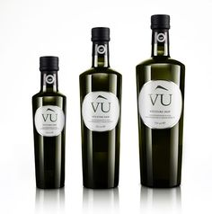 Olio Vù - Italian Extra Virgin Olive Oil Pdo on Packaging of the World - Creative Package Design Gallery