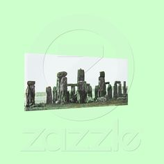 Stretched Canvas Stonehenge jGibney The MUSEUM Zaz from Zazzle.com