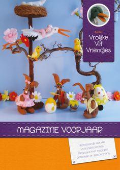 Magazine 4: Voorjaar Atelier Vrolijke Vilt Vriendjes