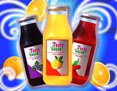"""Check out new work on my @Behance portfolio: """"Tasty Juice"""" http://be.net/gallery/35061263/Tasty-Juice"""