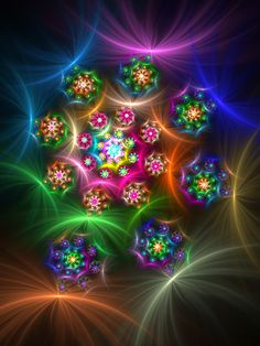 This fractal reminds me of the Russian dolls that stack inside each other.