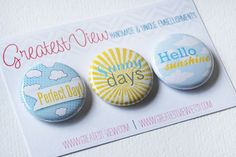 Perfect Day Badges