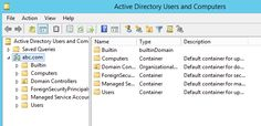 How to Create OU in Active Directory  Windows Server 2012 R2 How to Create OU in Active Directory  Windows Server 2012 R2
