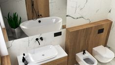 Projekt łazienki 016 - Sink, Bathtub, Bathroom, Home Decor, Sink Tops, Standing Bath, Washroom, Vessel Sink, Decoration Home
